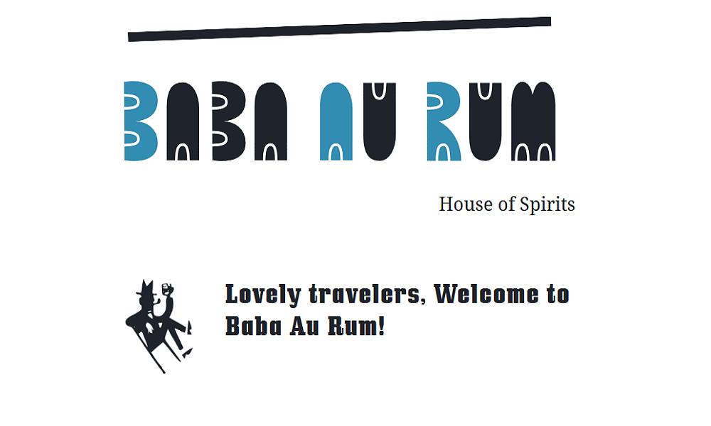 Baba Au Rum = BAR = ❤