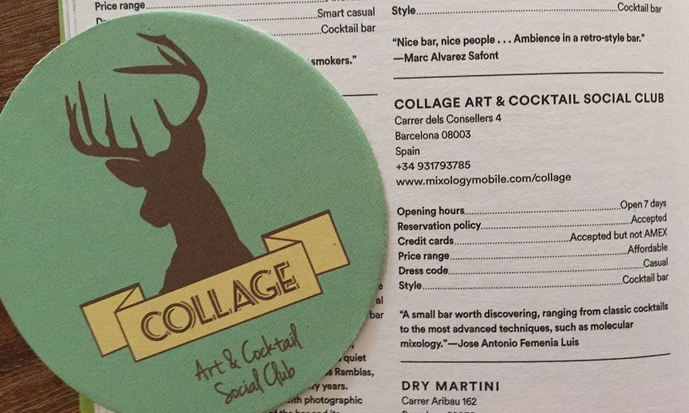 Collage Art & Cocktail Social Club – Cosy mix and match