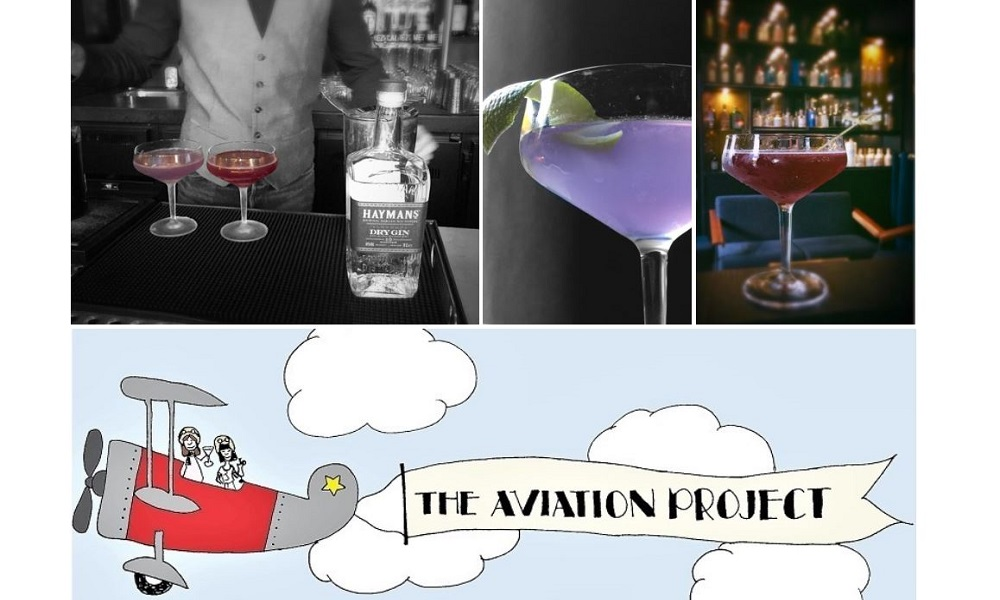 The Aviation Project – Having an Aviation at G&T Bar