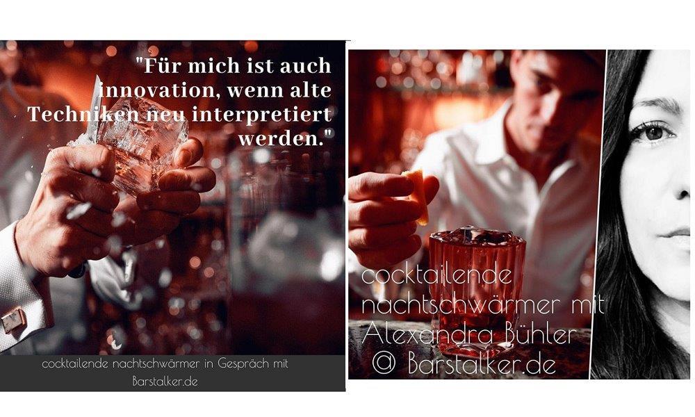 Cocktailende Nachtschwärmer featuring Alexandra Barstalker