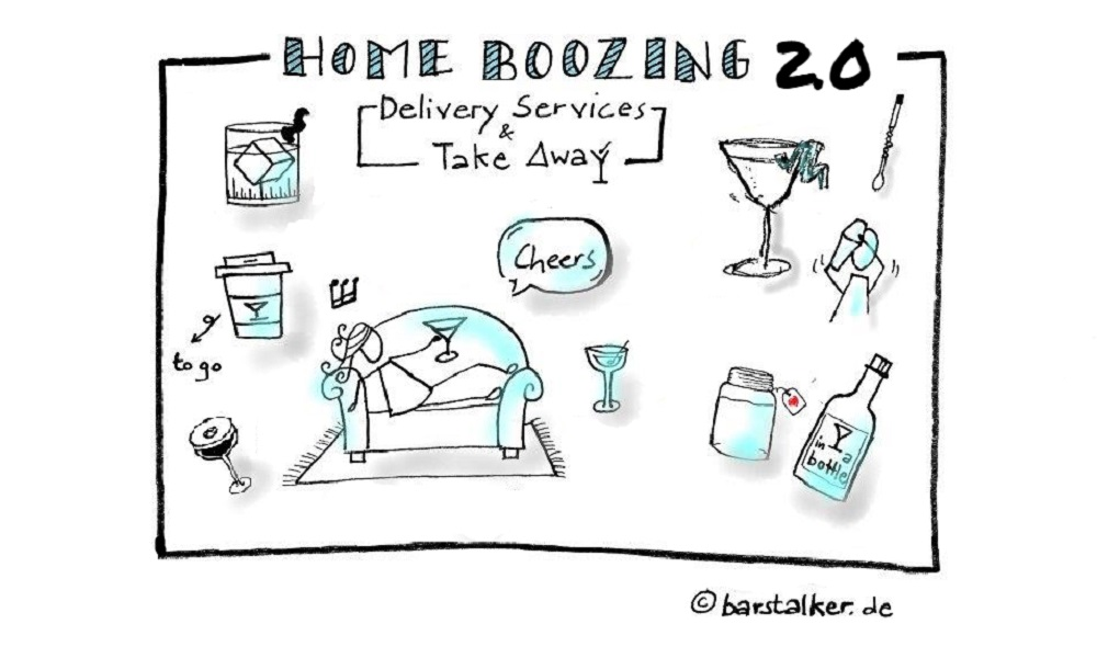 Home Boozing 2.0 – Take Away & Delivery